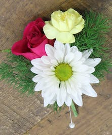 Spring Mix Boutonniere