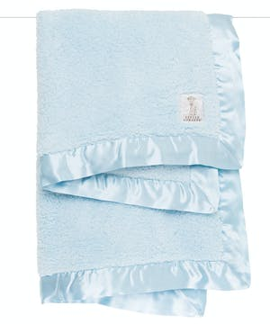 Wrap your little one in soft luxury with our Chenille Baby Blanket. These super snuggly designer baby blankets are trimmed with a matching satin picture-frame edge.