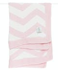 Dolce Chevron Baby Blanket in a Box - Pink