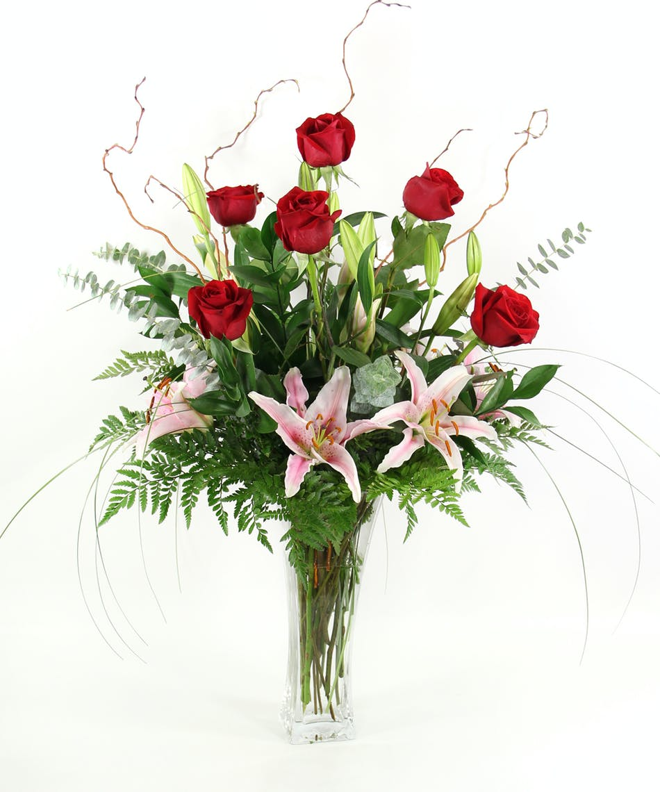 Roses Lilies Sameday Delivery Billings Mt Gainans Flowrs
