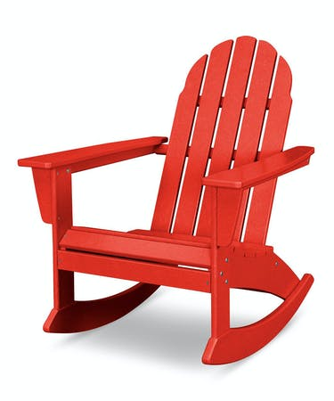 Remarkable Vineyard Adirondack Rocking Chair Vibrant Colors Caraccident5 Cool Chair Designs And Ideas Caraccident5Info