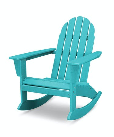 Remarkable Vineyard Adirondack Rocking Chair Aruba Vintage Finish Gmtry Best Dining Table And Chair Ideas Images Gmtryco