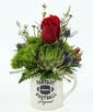 make it awesome by adding 1 rose (deluxe bouquet)