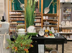 In addition to flowers and plants, Gainan's offers a range of gifts and decorations